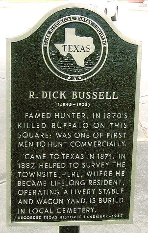 dick_bussell_historical_marker