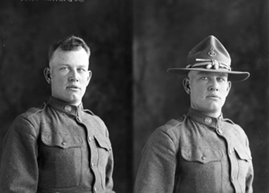 Photographer Julius Born Preserves World War I Military History for Hemphil County & Canadian Texas